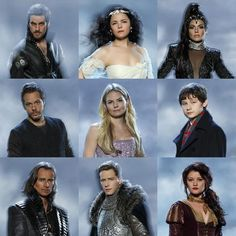 Once Upon a Time Season 3 | ABC. Regina's got fountain hair goin' on, Snow's got electrocuted-hair goin' on.....