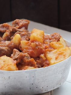 Pentole di cristallo ♥: Spezzatino con patate