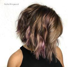 Red, purple, dark blonde by Rachel Ringwood