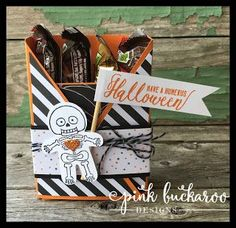 Cookie Cutter Halloween Treat Box and my weekend in Michigan with Creating…
