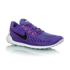 new product b0b5c 7265c Nike Free 5.0 (2015) - Womens Running Shoes - Persian Violet Black Aluminum Fuchsia  Glow
