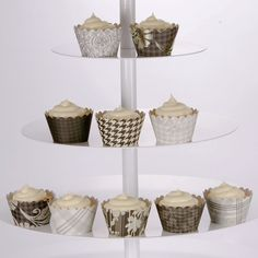 Zainab Damask Cupcake Papers & Fancy Cupcake Liners