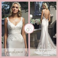 #style2210 | #casablancabridal| @Casablanca Bridal