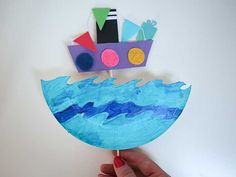 Sinterklaas knutselen - 12x de leukste Sinterklaasknutsels om te maken Spring Crafts For Kids, Art For Kids, Kid Art, Diy And Crafts, Arts And Crafts, Paper Plate Crafts, Paper Plates, Saint Nicholas, Crayon Art
