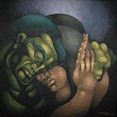 El Mordaz: mayo 2011 Face Art, Art Sketches, Surrealism, Artsy, Llamas, Tango, Painting, Vip, Faces