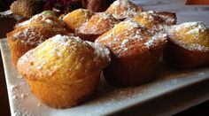 Muffin di mandorle e zucca