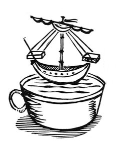 Ship in a cup