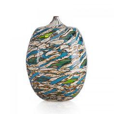 YOICHI OHIRA (b. 1946) Fine Laguna vase, Murano, Italy, 1998 Blown glass with murrine and powder inserts, polished surface Executed by Maestro Livio