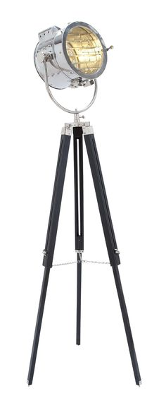 decmode spotlight floor lamp add a touch to your space with the decmode spotlight floor lamp this floor lamp