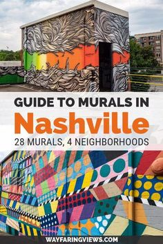 Find the best murals in Nashville Tennessee with this guide. Spotting street art is one of the coolest things to do there and you can get your fill in these four neighborhoods. Find favorite murals like the Wings and I believe in Nashville Nashville Vacation, Tennessee Vacation, Nashville Tennessee, East Tennessee, I Believe In Nashville, Nashville Must Do, Nashville Quotes, Nashville Things To Do, Nashville City