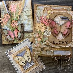 welcome to day 1 of 2019 sneak peeks… today is more than a sneak peek, it's actually a launch party featuring my latest release from sizzix. as a designer it's exciti… Tim Holtz Dies, Tim Holtz Stamps, Sizzix Dies, Butterfly Cards, Flower Cards, Paper Butterflies, Timmy Time, Mixed Media Cards, Card Making Inspiration