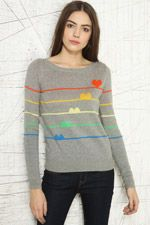 Cooperative Kitsch Hearts Pullover Sweater