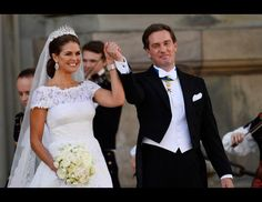 Pretty dress...  Royal Wedding of Sweden's Princess Madeleine