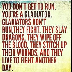 Time to gladiate!