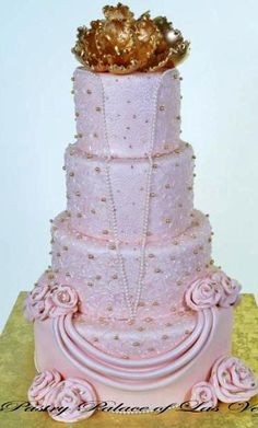 1023 – The Pink Gown | Pastry Palace Las Vegas Cakes
