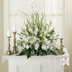 Wedding Altar Flower Arrangements