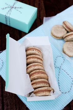 Hazelnut Macarons  by annieseats, I am going to learn to make these over the summer