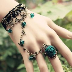 GRS says:  Oooooh...this totally speaks to my Inner Gypsy...and it's with roses, my favourite flower...I want it now!