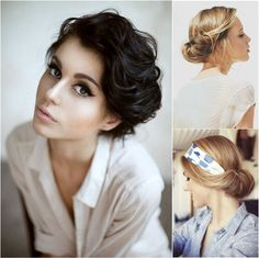 20 Popular Short Haircuts for Thick Hair - PoPular Haircuts Short Haircut Thick Hair, Short Curly Hair, Short Hair Cuts, Curly Hair Styles, Curly Pixie, Pixie Cuts, Short Pixie, Wavy Pixie Cut, Bob Cuts