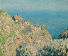 Claude Monet, Casa del pescatore a Varengeville, 1882