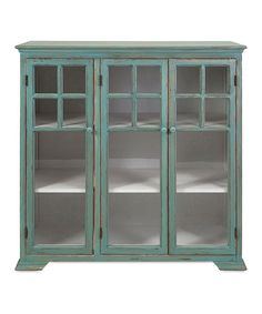 Look at this Armstrong Wooden Cabinet on #zulily today!