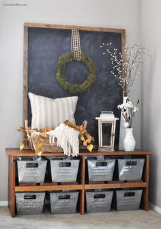 Such a beautiful Fall Home Tour filled with neutral decor and simple decorating ideas. Get all the details at CherishedBliss.com