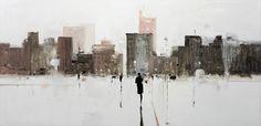 Geoffrey Johnson ~ Abstract Impressionism painter   Tutt'Art@