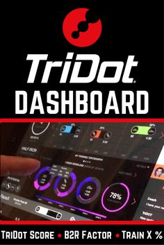 TriDot's all-new dashboard is loaded with features and serious triathlon technology. Find out more about your TriDot Score, B2R Factor, and TrainX % - http://blog.tridot.com/TriDot-Dashboard-101-3-Critical-Triathlon-Data-Points #triathlontraining #TriDotScore #triathlontechnology