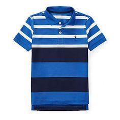 Performance Jersey Polo Shirt - Boys 2-7 Short Sleeve - RalphLauren.com