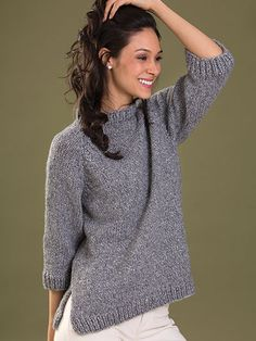 Confidence Pullover Knit Pattern