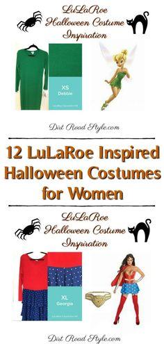 LuLaRoe Inspired Halloween Costumes