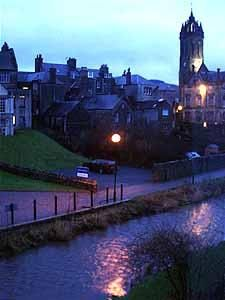 Town Impressions | Royal Burgh of Peebles, evening in Peebles.