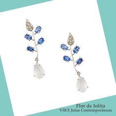 #NoivasVIKX #Noivas #Jewellry #vikx #Joias #Casamento #Earring #Gold #Iolita #Diamond