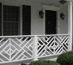 Image detail for -Wood deck railings, Porch railings, Wood balusters Aluminum Porch Railing, Wood Deck Railing, Front Porch Railings, Wood Balusters, Patio Stairs, Balustrades, Exterior Stairs, Stair Railing, Porch Balusters