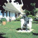 Babits Mihály szobra Szekszárdon Farkas Pál alkotása