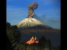 El Popocatépetl registra  exhalaciones y cuatro explosiones Se recomiend...