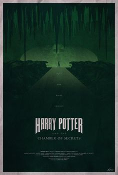#2 - Harry Potter and the Chamber of Secrets -- The Harry Potter Poster Collection - Created by Edward J. Moran II