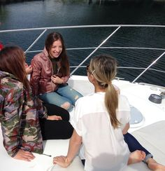 Canadian actress Anna Hopkins on #KWaycruise #TIFF #yacht #party #KWayna