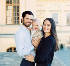 Prince Carl Philip, Princess Sofia, Prince Alexander of Sweden