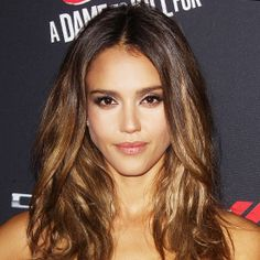 Here's Exactly How to Get Jessica Alba's Gorgeous Caramel Highlights  #InStyle