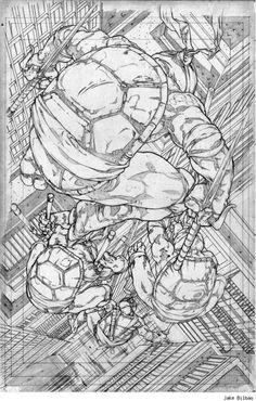 Teenage Mutant Ninja Turtles by Jake BIlbao