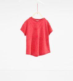 ZARA - KINDEREN - T-shirt met strepen