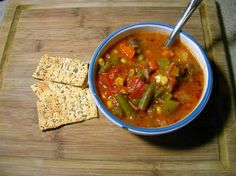Nothing warms you up on a cold day like a steaming hot bowl of homemade Beef Vegetable Soup!