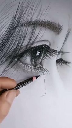 Cool Pencil Drawings, Art Drawings Sketches Simple, Realistic Drawings, Pencil Shading, Cool Sketches, Black And White Art Drawing, Art Drawings Beautiful, Amazing Drawings, Eye Art