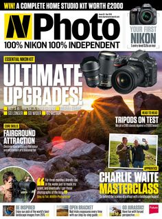 N-Photo Magazine 53. Ultimate upgrades! #CharlieWaite masterclass! #Tripods on test.