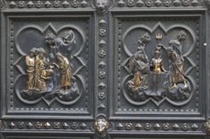 South doors (detail) by Andrea Pisano