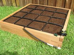 Hey, I found this really awesome Etsy listing at https://www.etsy.com/listing/118364135/4-x-4-raised-garden-kit-square-foot