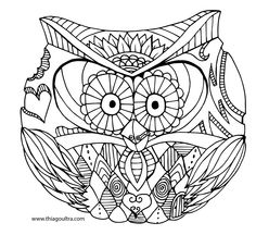 rounded owl-01