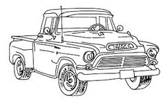 1000 images about images to color men and boys on for Gmc coloring pages