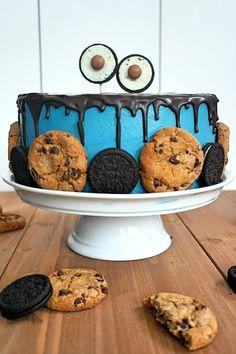 Eine Geburtstagstorte die bei Jung und Alt super ankommt. Krümelmonster wird einfach nie aus der Mode kommen :) Die Torte habe ich zum Anlass meiner lieben Freundin Fredericke gebacken. Es ist scho…